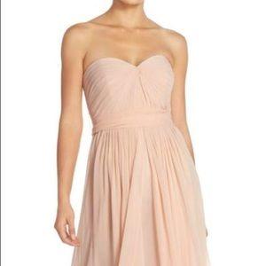 "Jenny Yoo ""Mira"" Dress in Blush"